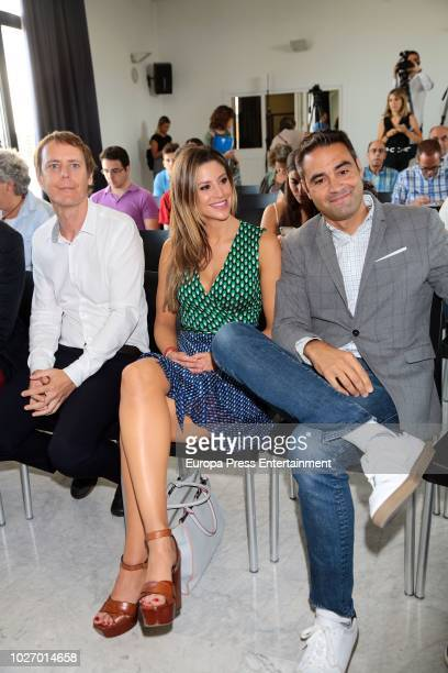Catherine McDonnell attends the presentation of the book of his boyfriend Pau Gasol on September 5 2018 in Madrid Spain