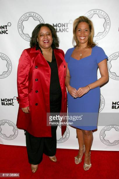 Catherine Mckenzie and Kemberly Richardson attend MONTBLANC And ALVIN AILEY AMERICAN DANCE THEATRE Honor JUDITH JAMISON at Alvin Ailey American Dance...
