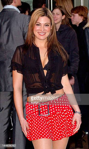 Catherine McQueen attending the Alien Autopsy Premiere Odeon Leicester Square London April 3rd 2006 Job 11116