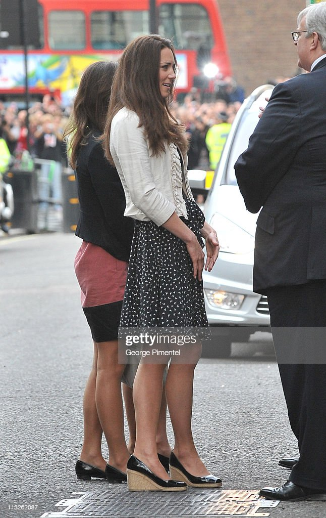 Catherine Middleton Arrives At The Goring Hotel : News Photo