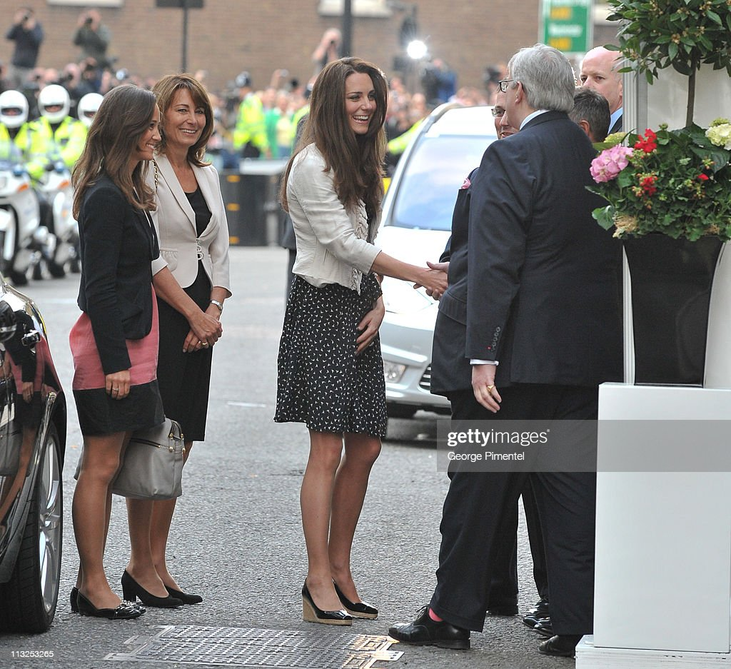 Catherine Middleton's Arrival  At The Goring Hotel : News Photo