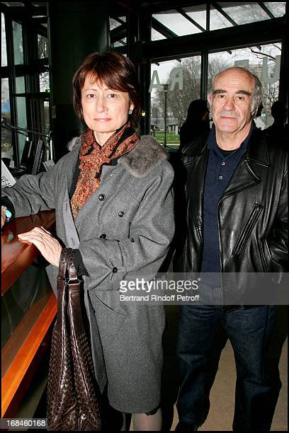 Catherine Millet and her husband at The French Cinematheque Celebrates Director Pedro Almodovar