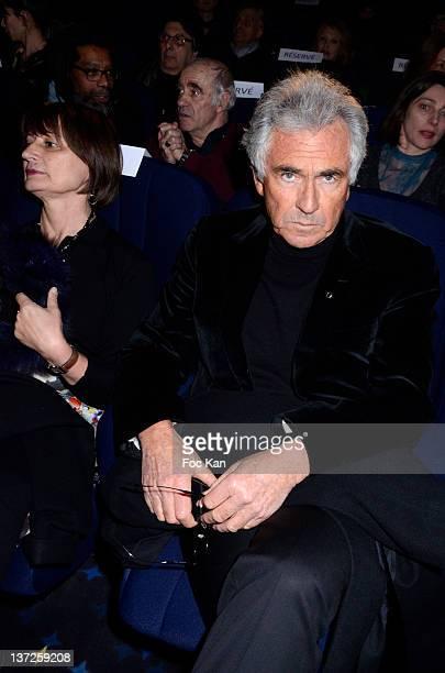 Catherine Millet and Jean Paul Enthoven attend the 'Prix SaintGermain des Pres 2012 Cinema Awards hosted by 'La Regle Du Jeu' Magazine at the Cinema...