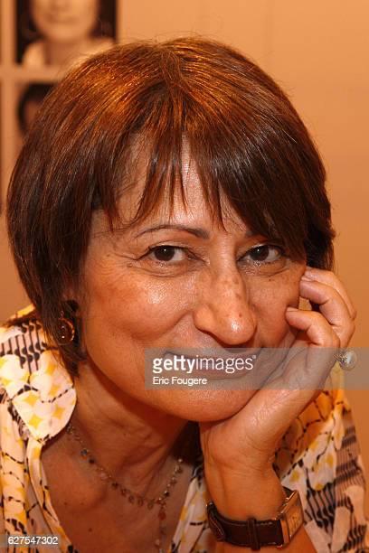 Catherine Millet attends the 2009 ' Salon du Livre ' in Paris