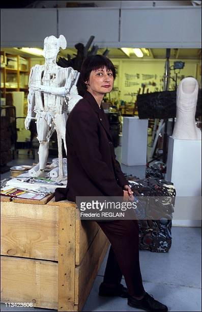 Catherine Millet In Venice Biennale On May 22th 1995