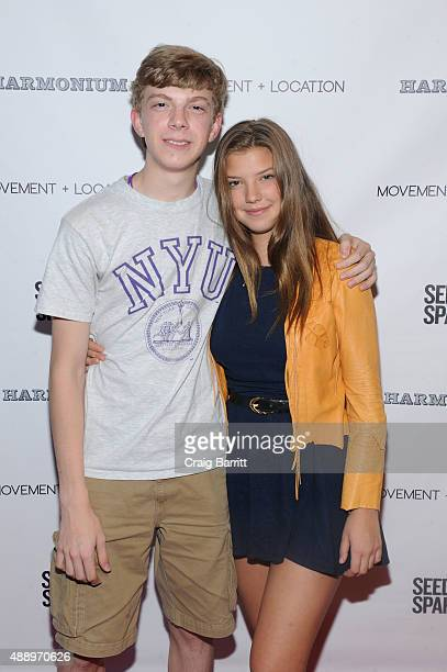 Catherine Missal attends the Movement Location NYC Premiere on September 18 2015 in New York City