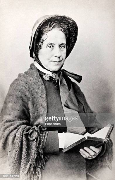 Catherine Mumford Booth the wife of General William Booth the Methodist preacher who founded the Salvation Army circa 1870