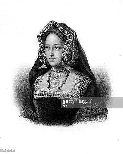 Catherine of Aragon daughter of Ferdinand V of Aragon first wife of Henry VIII of England and mother of Mary Tudor