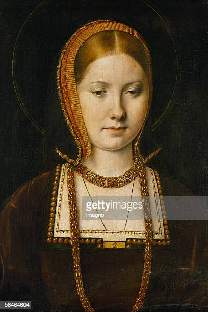 Catherine of Aragon first wife of King Henry VIII The Pope's refusal to let the King divorce her led to the separation of the Anglican from the...
