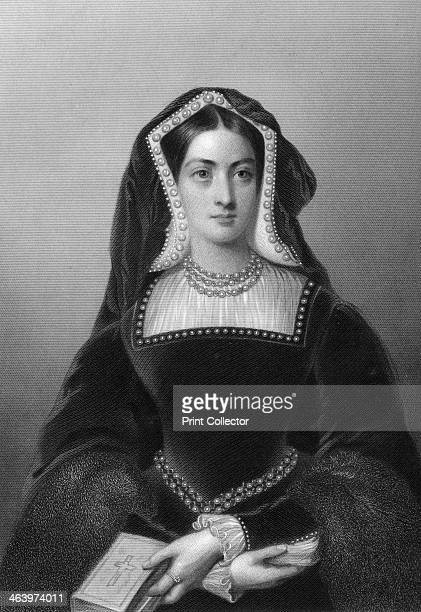 Catherine of Aragon the first wife of King Henry VIII 1851 From Biographical Sketches of the Queens of Great Britain from the Norman Conquest to the...