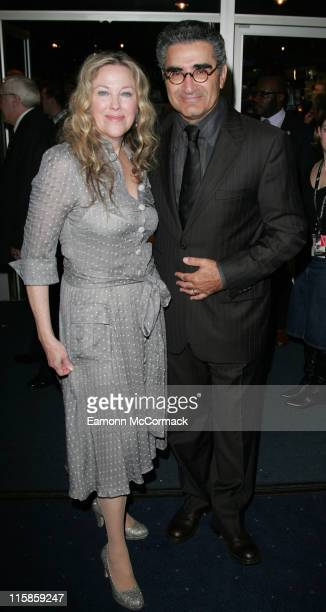 Catherine O'Hara and Eugene Levy during The Times BFI 50th London Film Festival 'For Your Consideration' London Premiere Arrivals at Odeon West End...