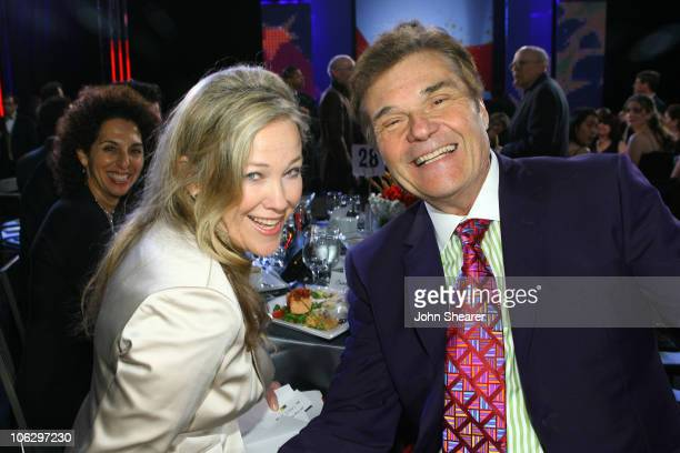 Catherine O'Hara and Fred Willard during 12th Annual Critics' Choice Awards Backstage and Audience at Santa Monica Civic Auditorium in Santa Monica...