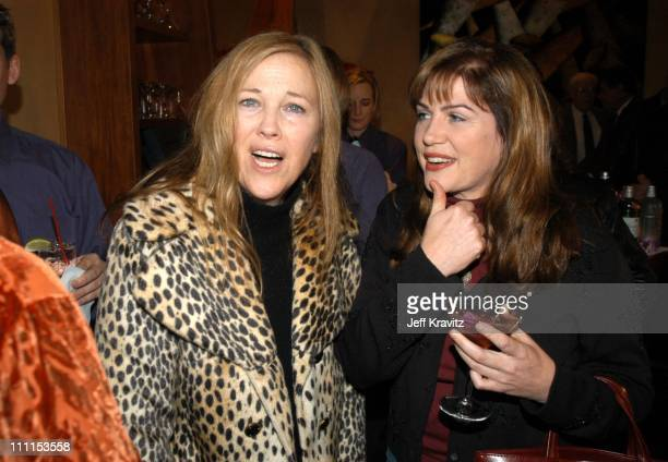 Catherine O'Hara and Julia Sweeney during US Comedy Arts Festival Announces Comedy Film Honors at Spago Beverly Hills in Los Angeles California...