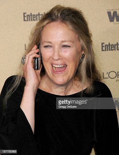 Catherine O'Hara arrives at the Entertainment Weekly and Women In Film PreEmmy Party at the 'Restaurant' at the Sunset Marquis Hotel on August 27...