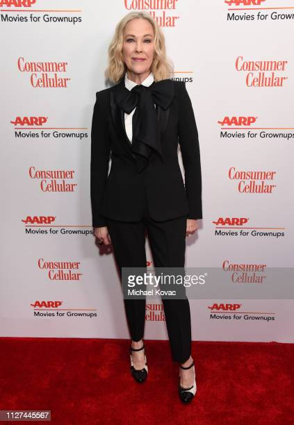 Catherine O'Hara attends AARP The Magazine's 18th Annual Movies for Grownups Awards at the Beverly Wilshire Four Seasons Hotel on February 04 2019 in...