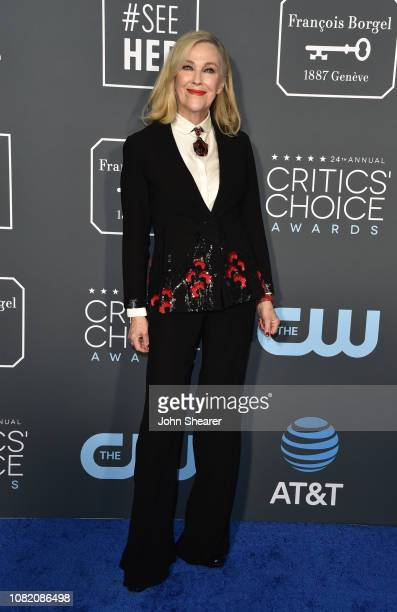 Catherine O'Hara attends the 24th Annual Critics' Choice Awards at Barker Hangar on January 13 2019 in Santa Monica California