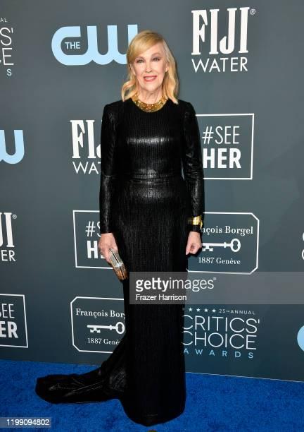 Catherine O'Hara attends the 25th Annual Critics' Choice Awards at Barker Hangar on January 12, 2020 in Santa Monica, California.