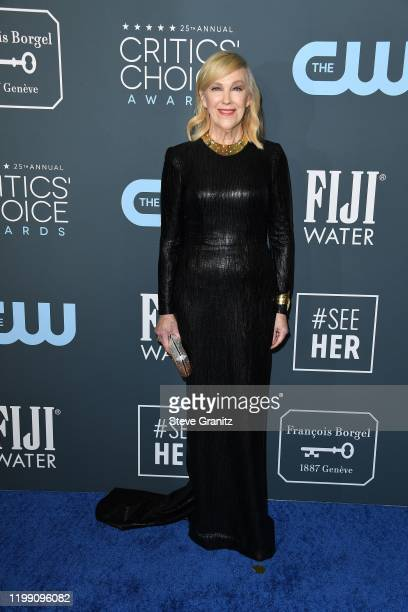 Catherine O'Hara attends the 25th Annual Critics' Choice Awards at Barker Hangar on January 12 2020 in Santa Monica California