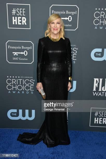 Catherine O'Hara attends the 25th Annual Critics' Choice Awards held at Barker Hangar on January 12, 2020 in Santa Monica, California.