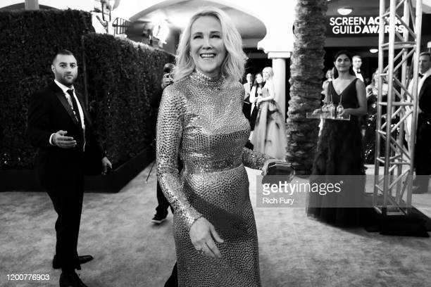 Catherine O'Hara attends the 26th Annual Screen Actors Guild Awards at The Shrine Auditorium on January 19 2020 in Los Angeles California