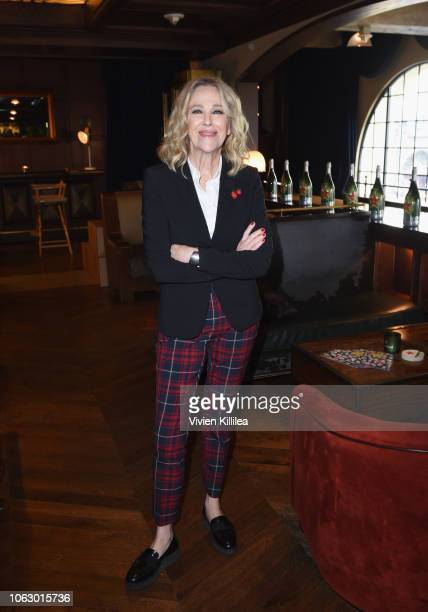 Catherine O'Hara attends the Heineken Green Room during Vulture Festival presented by ATT at Hollywood Roosevelt Hotel on November 17 2018 in...