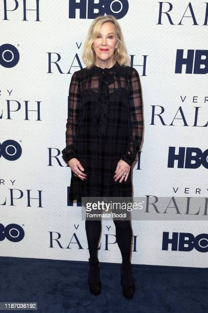 Catherine O'Hara attends the Premiere of HBO Documentary Film Very Ralph at The Paley Center for Media on November 11 2019 in Beverly Hills California