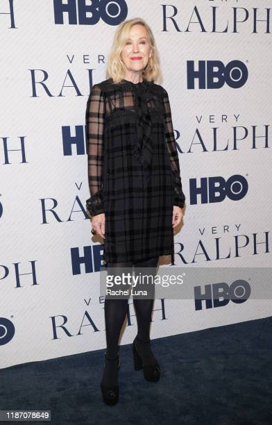 """Catherine O'Hara attends the premiere of HBO Documentary Film """"Very Ralph"""" at The Paley Center for Media on November 11, 2019 in Beverly Hills,..."""