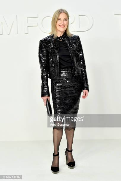Catherine O'Hara attends the Tom Ford AW20 Show at Milk Studios on February 07, 2020 in Hollywood, California.