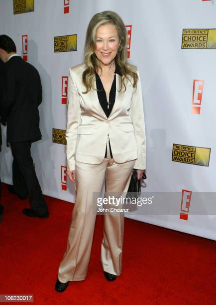 Catherine O'Hara during 12th Annual Critics' Choice Awards Red Carpet at Santa Monica Civic Auditorium in Los Angeles California United States