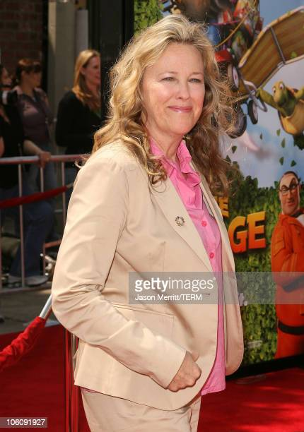 Catherine O'Hara during Dreamworks' Over The Hedge Los Angeles Premiere Arrivals at Mann Village Theatre in Westwood California United States