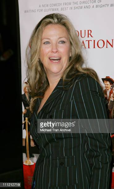 Catherine O'Hara during 'For Your Consideration' Los Angeles Premiere Arrivals at Director's Guild of America in Los Angeles California United States