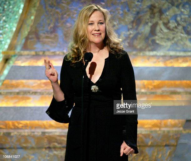 Catherine O'Hara during The 19th Annual American Cinematheque Award Honoring Steve Martin - Inside and Show at The Beverly Hilton Hotel in Beverly...