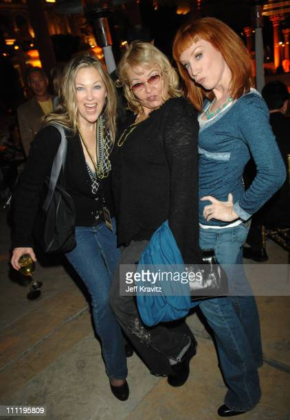 Catherine O'Hara Roseanne Barr and Kathy Griffin during HBO AEG Live's 'The Comedy Festival' Comic Relief 2006 After Party at Caesars Palace in Las...