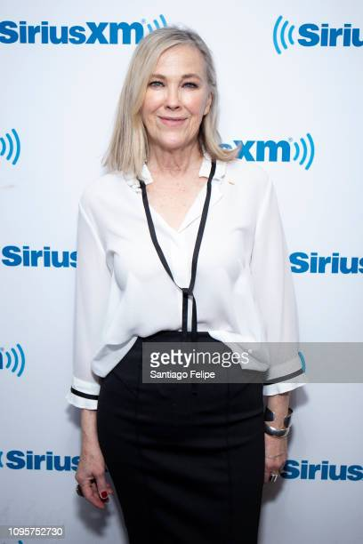 Catherine O'Hara visits SiriusXM Studios on January 17 2019 in New York City