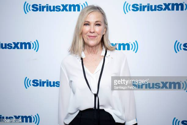 Catherine O'Hara visits SiriusXM Studios on January 17 2019 in New York City