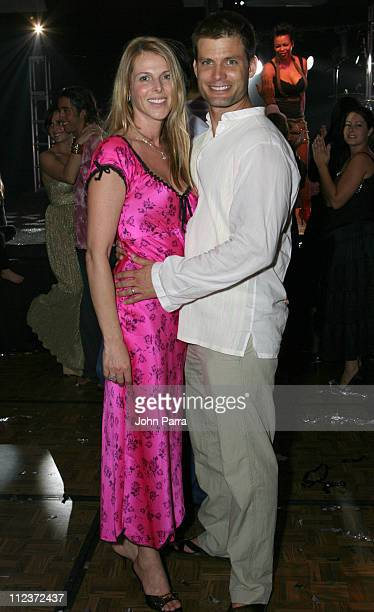 Catherine Oxenberg and Casper Van Dien during Best Buddies 9th Annual Miami Beach Gala Havana Nights Inside and Backstage at Star Island in Miami...