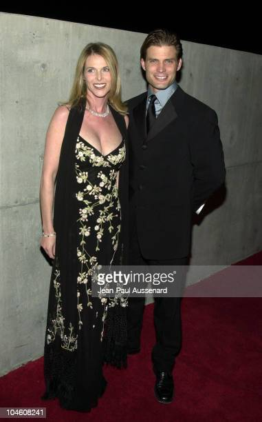 Catherine Oxenberg Casper Van Dien during 10th Annual Movieguide Awards at Skirball Cultural Center in Los Angeles California United States