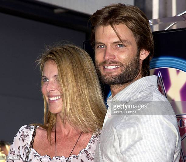 Catherine Oxenberg Casper Van Dien during Michael York Honored with a Star on the Hollywood Walk of Fame for His Achievements in Film at Hollywood...