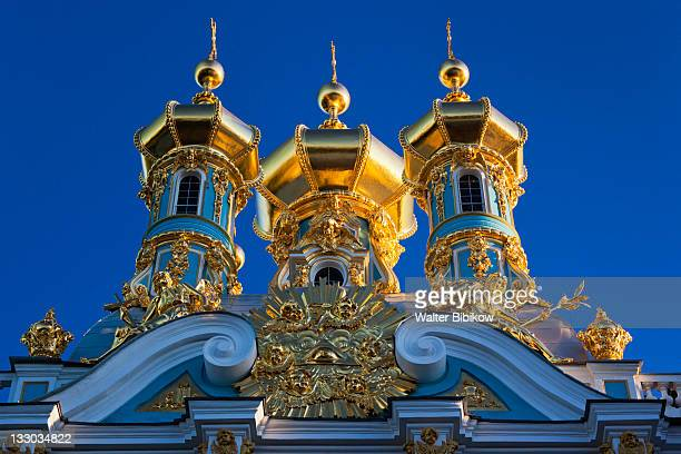 catherine palace chapel detail - st. petersburg russia stock pictures, royalty-free photos & images