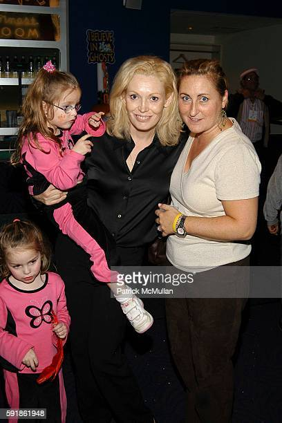 Catherine Patricia Gentile Annabella Rose Gentile Cathy Moriarty and Cyma Zarghami attend Dream Halloween Fundraising Event to Benefit the Children...