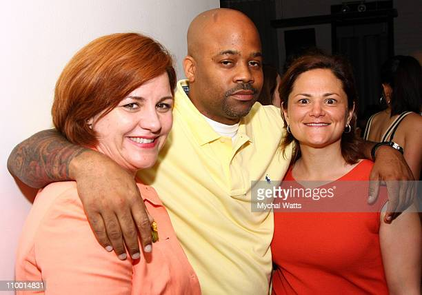 Catherine Quinn and Damon Dash and Melissa MarkViverito attend the 4th Annual Ghetto Film School benefit dinner and awards ceremony at Bottino on...