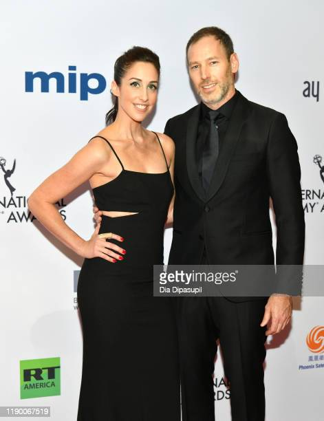 Catherine Reitman and Philip Sternberg attend the 2019 International Emmy Awards Gala on November 25, 2019 in New York City.