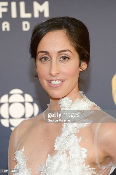 Catherine Reitman attends 2017 Canadian Screen Awardsat Sony Centre For Performing Arts on March 12 2017 in Toronto Canada