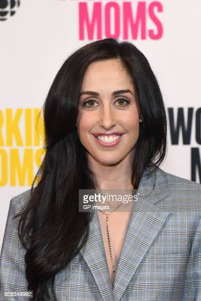 Catherine Reitman attends CBC Presents A Night Out With Workin Moms at TIFF Bell Lightbox on March 6 2018 in Toronto Canada