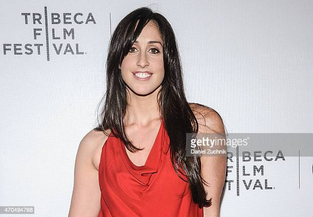 """Catherine Reitman attends the 2015 Tribeca Film Festival - World Premiere Narrative: """"Slow Learners"""" at Regal Battery Park 11 on April 20, 2015 in..."""