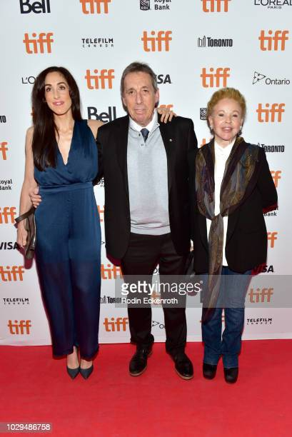"""Catherine Reitman, Ivan Reitman and Genevieve Robert attend the """"The Front Runner"""" premiere during 2018 Toronto International Film Festival at..."""