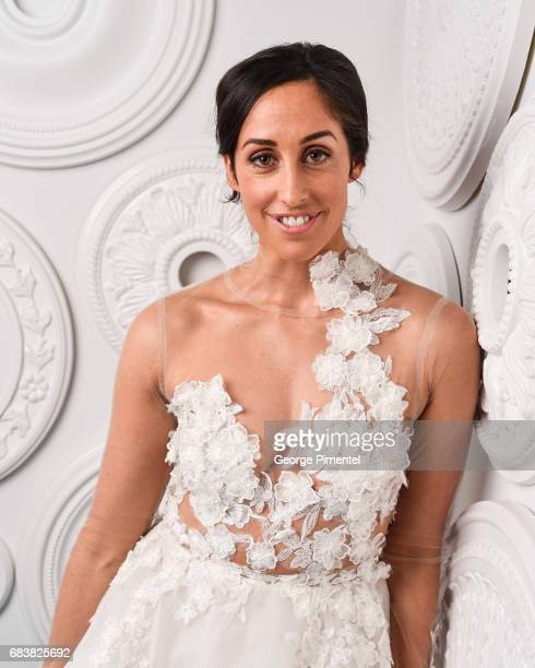 Catherine Reitman poses in the ETalk Portrait Studio at the 2017 Canadian Screen Awards at the Sony Centre For Performing Arts on March 12 2017 in...