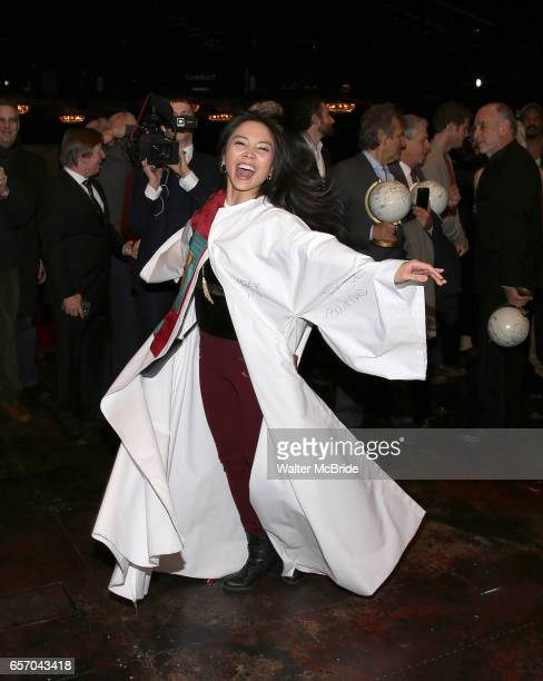 Catherine Ricafort during The Opening Night Actors' Equity Gypsy Robe Ceremony honoring Catherine Ricafort for the New Broadway Production of Miss...
