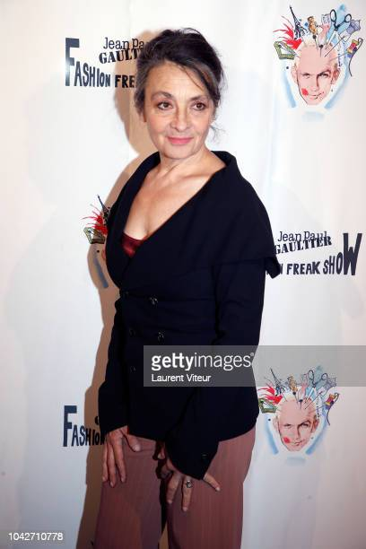 Catherine Ringer attends the Fashion Freak Show as part of the Paris Fashion Week Womenswear Spring/Summer 2019 on September 28 2018 in Paris France