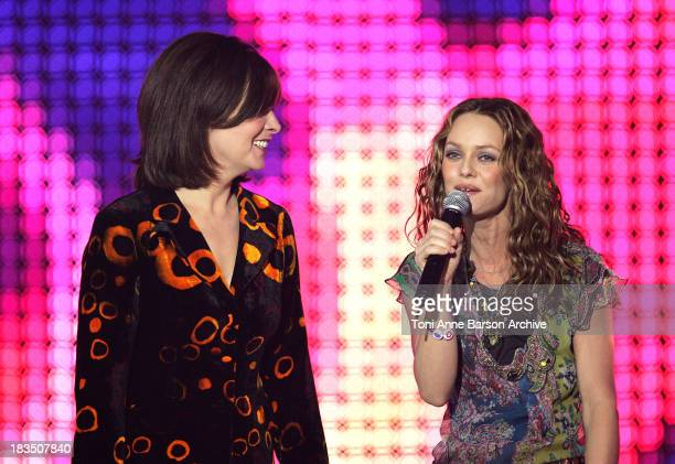 Catherine Ringer of Rita Mitsouko and Vanessa Paradis